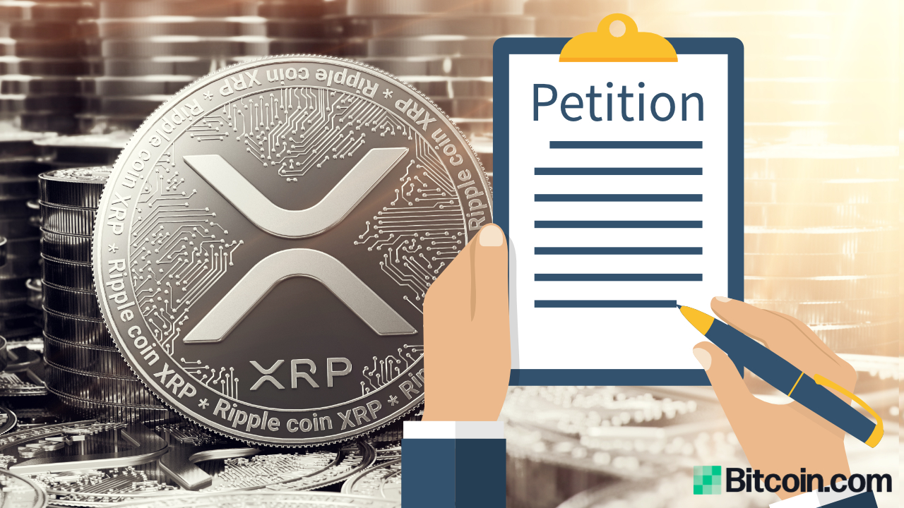 Petition for New SEC Chairman to Drop Ripple Lawsuit and 'End War on XRP' Launched